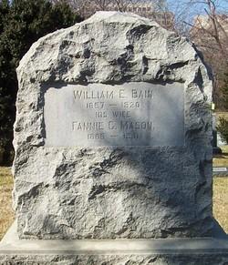 Fannie C <i>Mason</i> Bain