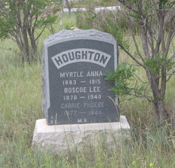 Myrtle Anna <i>Robinson</i> Houghton