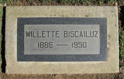 Willette Marce <i>Harrison</i> Biscailuz