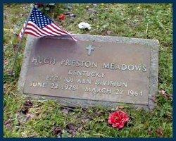 Pvt Hugh Preston H.P. Meadows