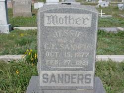 Lena Arjessie Jessie <i>Hand</i> Sanders