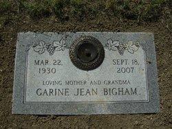 Garine Jean <i>Bullock</i> Bigham