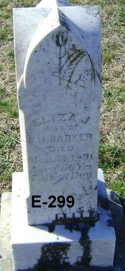 Eliza Jane <i>Brumley</i> Barker