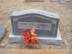 Caroline Alice Carrie Cummings