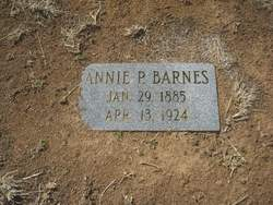 Annie L. <i>Parks</i> BARNES