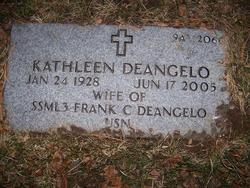 Kathleen <i>McGettigan</i> DeAngelo