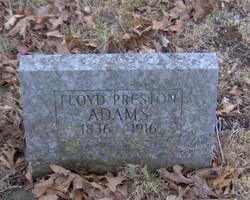 Floyd Preston Adams