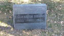 Evaline Elizabeth <i>Brockman</i> Adams