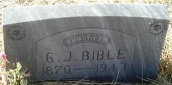 Gilbert Jackson Bible