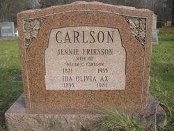 Jennie <i>Eriksson</i> Carlson