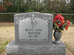 Becky Jane Bec Bec Watson