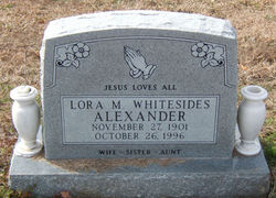 Lora M. <i>Whitesides</i> Alexander