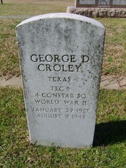 George Dewey Croley, Jr