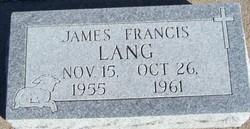 James Francis Lang
