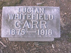 Lucien <i>Whitefield</i> Carr