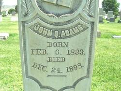 John Quincy Adams, Sr