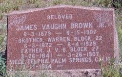 1st Sgt James Vaughn Brown, Sr