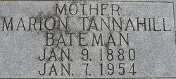 Marion Mae <i>Tannahill</i> Bateman