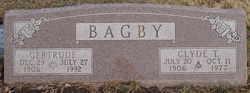 Gertrude <i>Plank</i> Bagby
