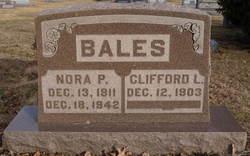 Nora Pauline <i>Swafford</i> Bales