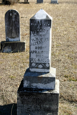 Maggie E. <i>Scarborough</i> Alexander