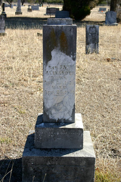 Rev Stephen Volorious Alexander