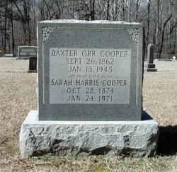 Baxter Orr Cooper