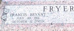 Francis Bryant Fryer