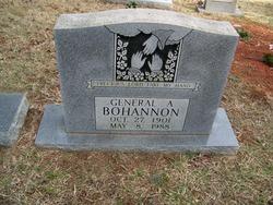 General A Bohannon