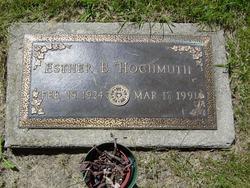 Esther B <i>Mahnke</i> Hochmuth