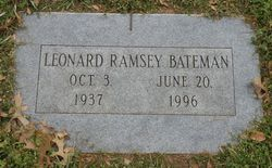 Leonard Ramsey Bateman