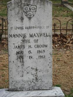 Nannie <i>Maxwell</i> Croom