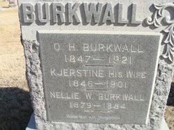 Nellie W Burkwall