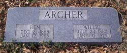 Benjamin F Archer