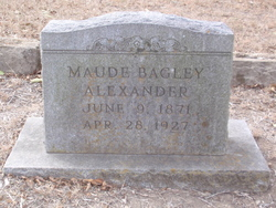 Maude <i>Bagley</i> Alexander