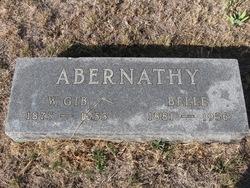 William Gilbert Gib Abernathy, Sr