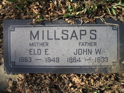 Eleanor Eloise Elo <i>Burrows</i> Millsaps