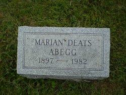 Marian <i>Deats</i> Abegg