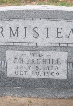 Pvt Churchill Armistead