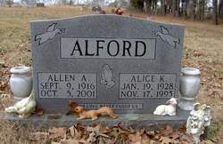 Alice Kathryne <i>Waggoner</i> Alford