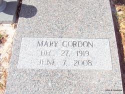 Mary Willard Gordon