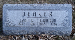 Lydia Ellen <i>Clark</i> Beaver