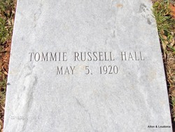 Tommie Russell Hall
