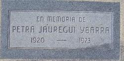 Petra <i>Jauregui</i> Ybarra