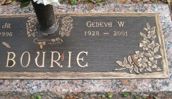 Geneva W <i>Wyatt</i> Bourie