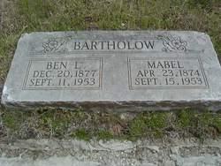 Mabel <i>Atherton</i> Bartholow