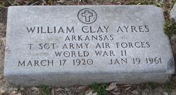 Sgt William Clay Ayres