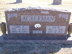 Elmer A Ackerman