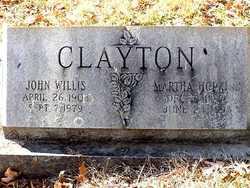 John Willis Clayton