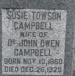 Susie <i>Towson</i> Campbell